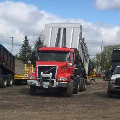 Tri Axle Dump Trucks