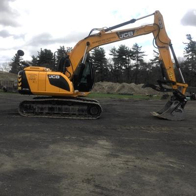 JCB Yard excavator