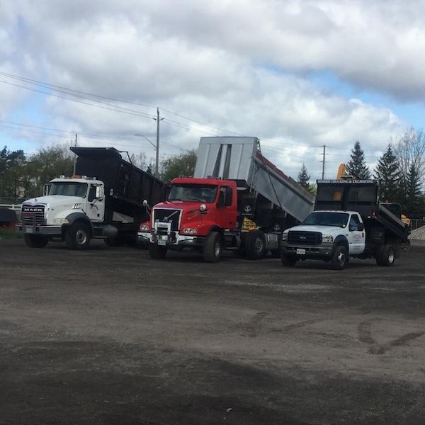 dump trucks in simcoe